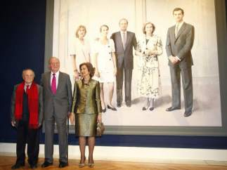 Antonio López termina el retrato real