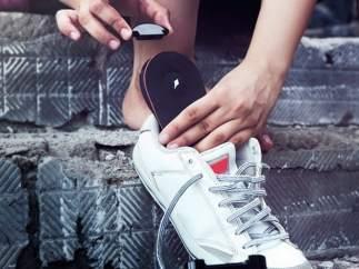 Zapatos con GPS