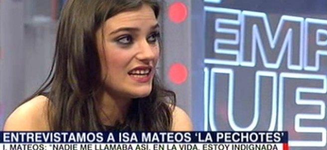 Isabel Mateos, conocida como la Pechotes