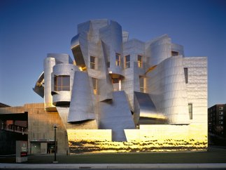 Frederick R. Weisman Art and Teaching Museum, 1990-1993, 2000-2011 (r�alis�). Minneapolis, Minnesota