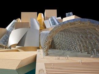 'Maquette Guggenheim Abu Dhabi, 2006' – (en cours de rélisation) Emirats arabes unis