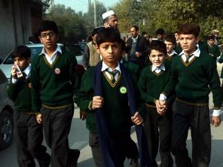Desolaci�n entre los alumnos rescatados