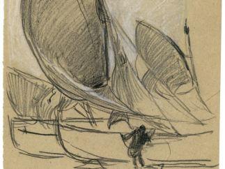 'Estudios de vela', h. 1891-1896