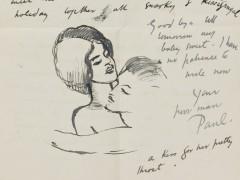 Paul Nash Letter from Paul Nash to Margaret Nash 4 July 1913