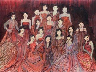 'Les D�butantes (rouge feu)', 2014