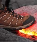Caminando por lava