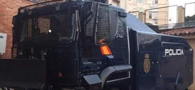 Camión antidisturbios