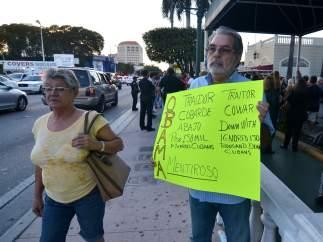 El exilio cubano contra el acuero
