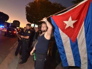 Los cubanos salen a las calles en Miami