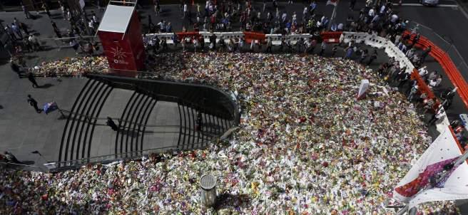 Homenaje a las víctimas de Sídney