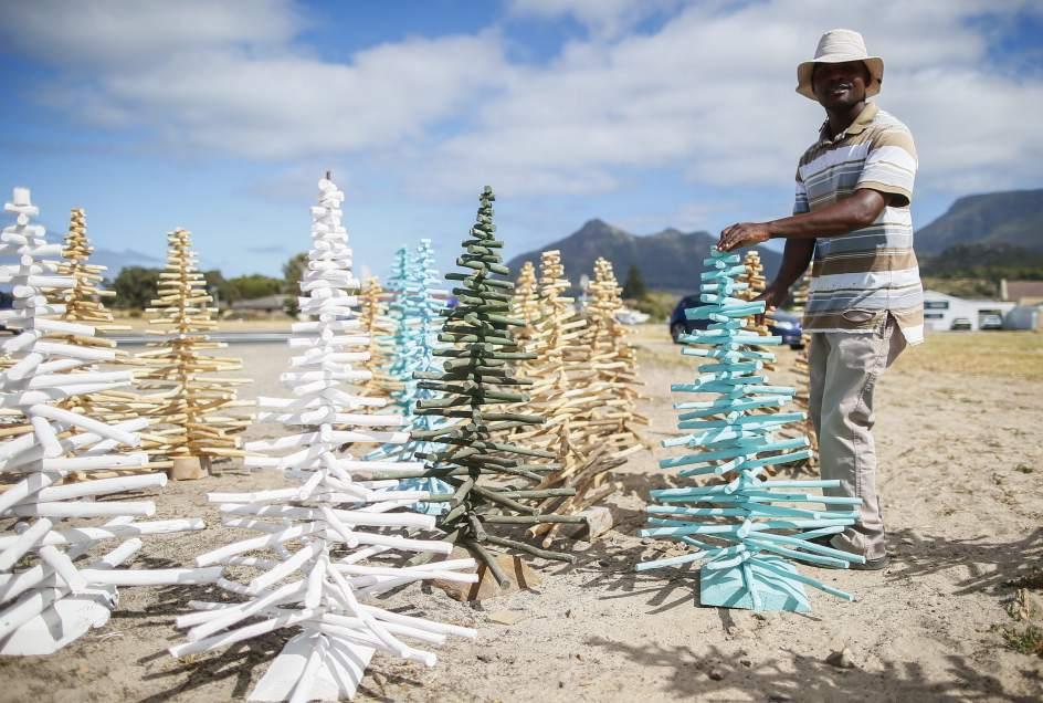 Árboles de Navidad sudafricanos