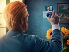 Los grandes pintores autorretrat�ndose con selfies