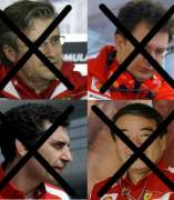 Bajas en el equipo Ferrari.