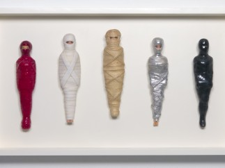 E.V. Day, Mummified Barbies, 1991-Present