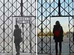 """Vuelve al campo nazi de Dachau el portalón robado con lema """"el trabajo libera"""""""