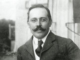 Josef Hoffmann, portrait, 1903