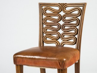 Josef Hoffmann, chair for the exhibition Das befreite Handwerk [Liberated Craftsmanship] at the Austrian Museum of Art and Industry, 1934