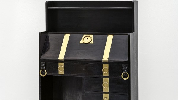 Adolf Loos, Writing cabinet from an unidentified interior, ca. 1898/99