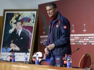 Edgardo Bauza, entrenador del C. A. San Lorenzo de Almagro