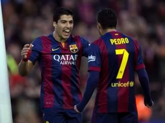 Luis Su�rez y Pedro
