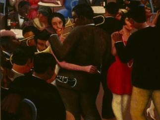 Archibald J. Motley Jr. - Blues, 1929