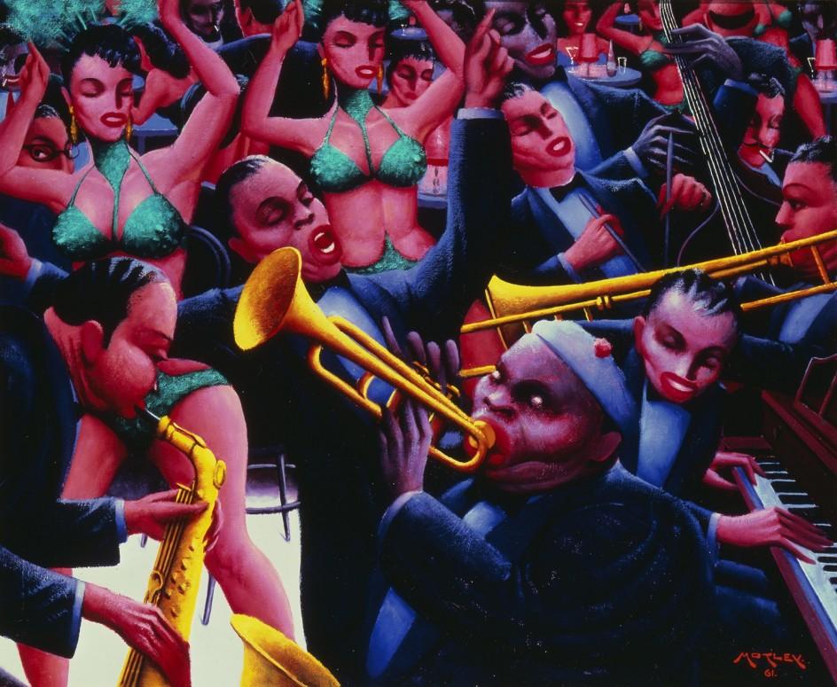 Archibald J. Motley Jr. - Hot Rhythm, 1961