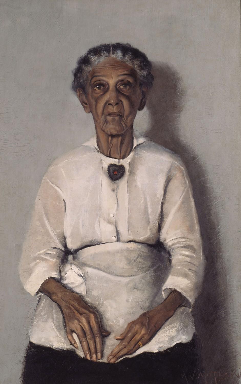 Archibald J. Motley Jr. - Portrait of My Grandmother, 1922. Motley retrata a una de sus abuelas