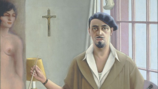 Archibald J. Motley Jr. - Selfportrait (Myself at Work), 1933