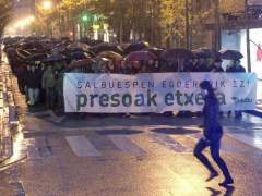 Manifestaci�n en San Sebasti�n
