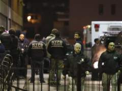Mueren dos polic�as en Nueva York
