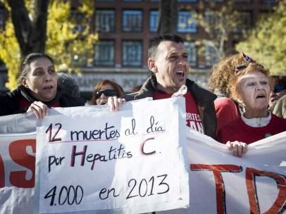Afectados por la hepatitis C