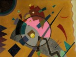 Wassily Kandinsky, Rose with Gray, 1924