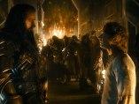 Bilbo y Thorin en El Hobbit: La batalla de los cinco ejércitos