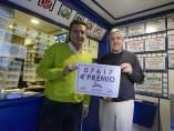 El cuarto premio de la Loter�a de Navidad en Ourense