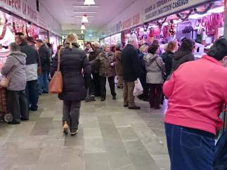 Mercado Merca 80 en el Zaidín, Granada.