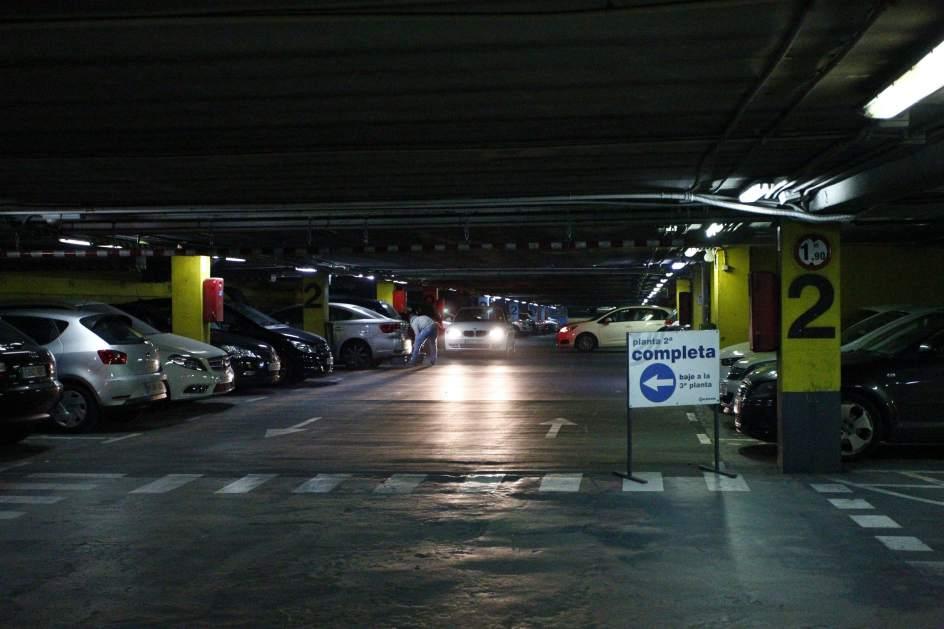 Sorprendido vigilante  en parking pryca Norte de Jerez