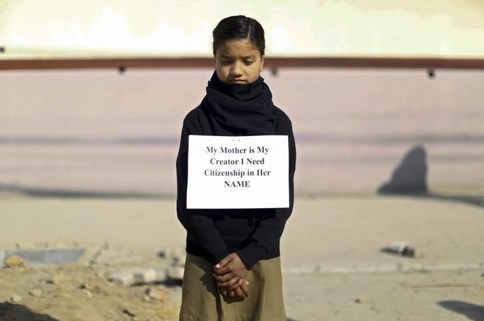 Protesta contra la nueva Constitución nepalí