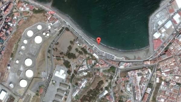 Playa Benítez, en Ceuta
