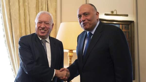 Margallo y Al Sisi