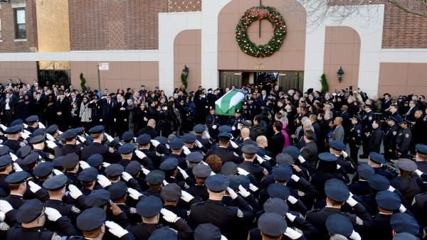 Funeral de Rafael Ramos