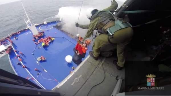 Rescate del ferry Norman Atlantic