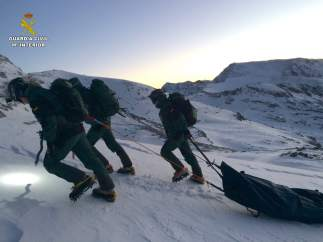Excursionista fallecida en Sierra Nevada