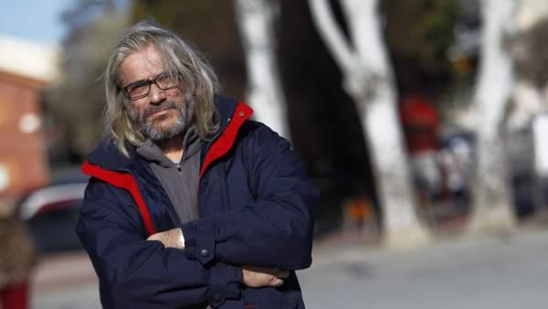 Manuel Fernández, enfermo de hepatitis C
