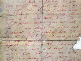 Dear Boss letter from Jack the Ripper. Letter to the Central News Agency September 1888