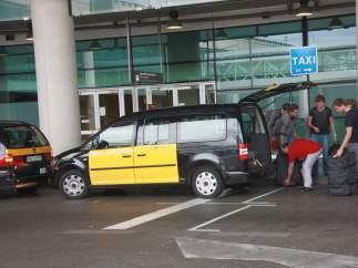 Un taxi de Barcelona
