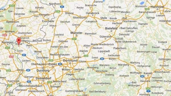 Kleve, en el noroeste de Alemania