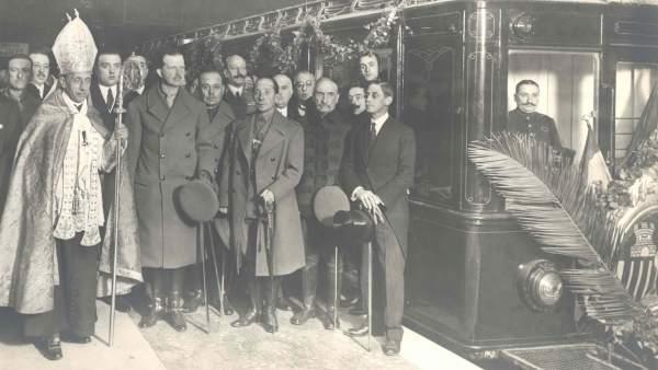 Inauguración del metro