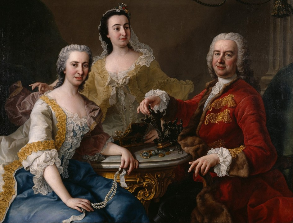 Martin van Meytens Yr., Joseph de France with his Family, 1748. José de Francia y su familia retratados por Van Meytens