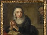 Martin van Meytens Yr., Kneeling Nun (Front side), about 1731