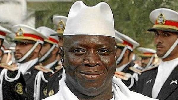 Yahya Jammeh, presidente de Gambia desde 1995